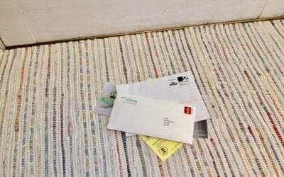 A mediator's letter has landed on the door mat